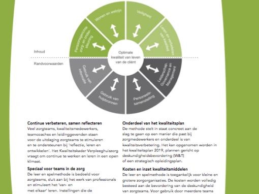 Kwaliteit in dialoog voor zorgteams: 'niet alleen leerzaam, maar ook erg leuk'