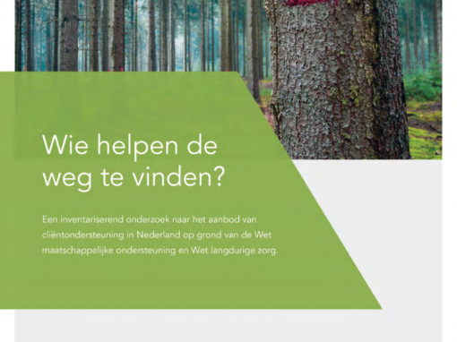 """Clientondersteuning in Nederland: """"Wie helpen de weg te vinden?"""""""